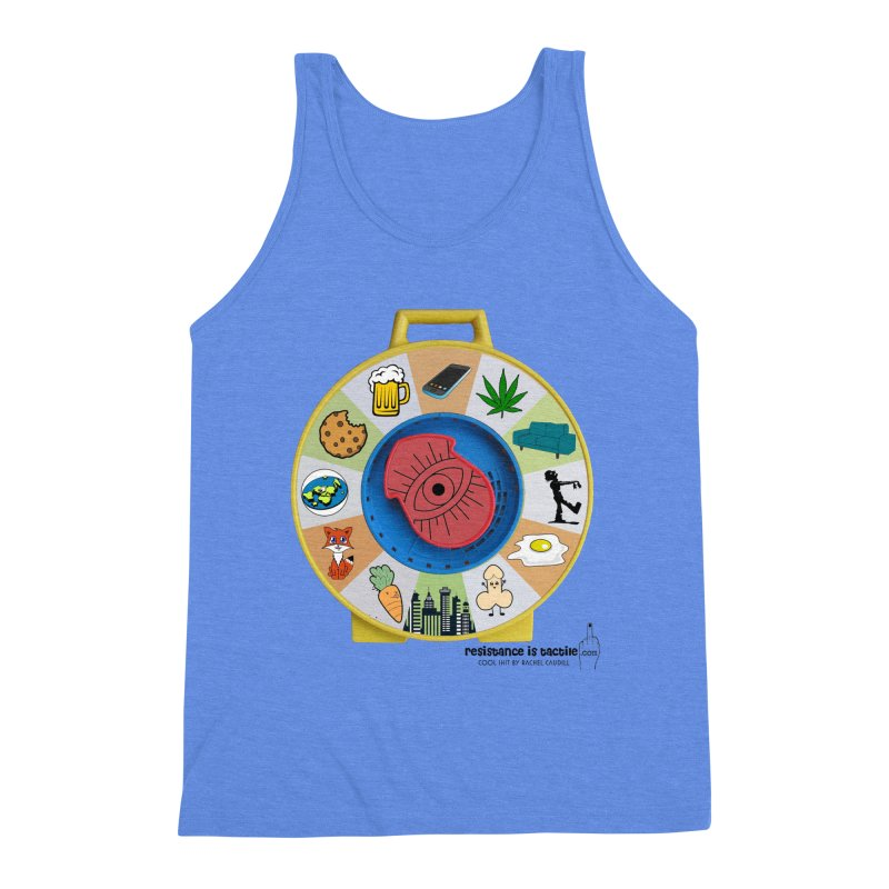 See Something, Say Something Men's Triblend Tank by Resistance is Tactile