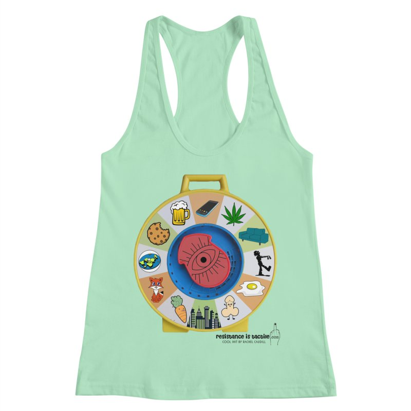 See Something, Say Something Women's Racerback Tank by Resistance is Tactile