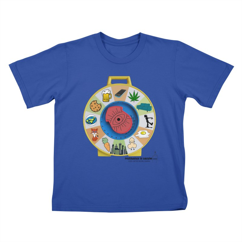 See Something, Say Something Kids T-Shirt by Resistance is Tactile
