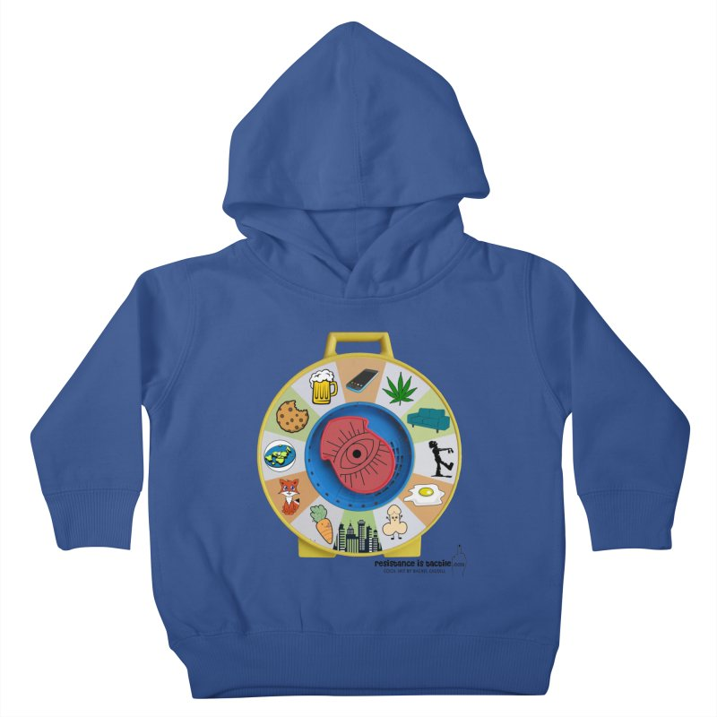 See Something, Say Something Kids Toddler Pullover Hoody by Resistance is Tactile