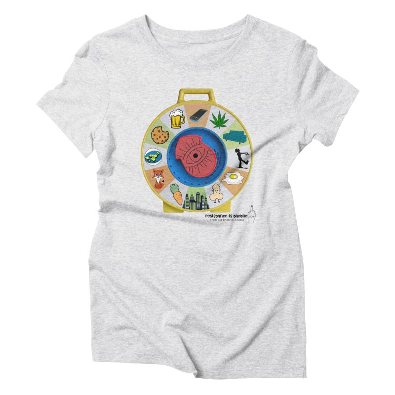See Something, Say Something Women's Triblend T-Shirt by Resistance is Tactile