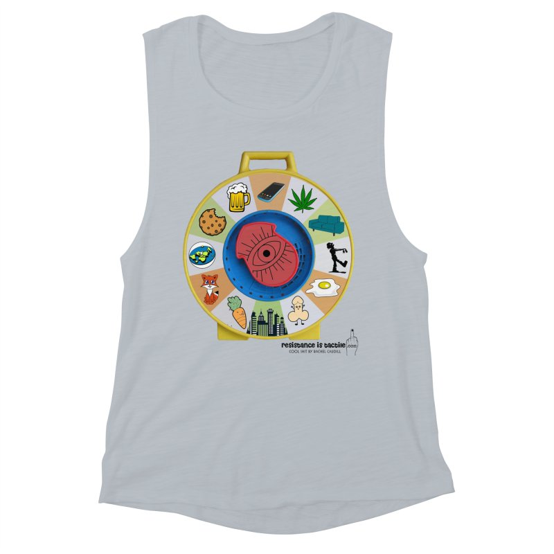 See Something, Say Something Women's Muscle Tank by Resistance is Tactile