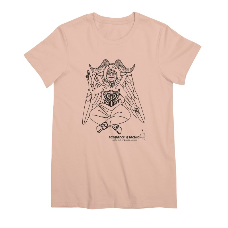 Roseannomet - Light Side Women's Premium T-Shirt by Resistance is Tactile