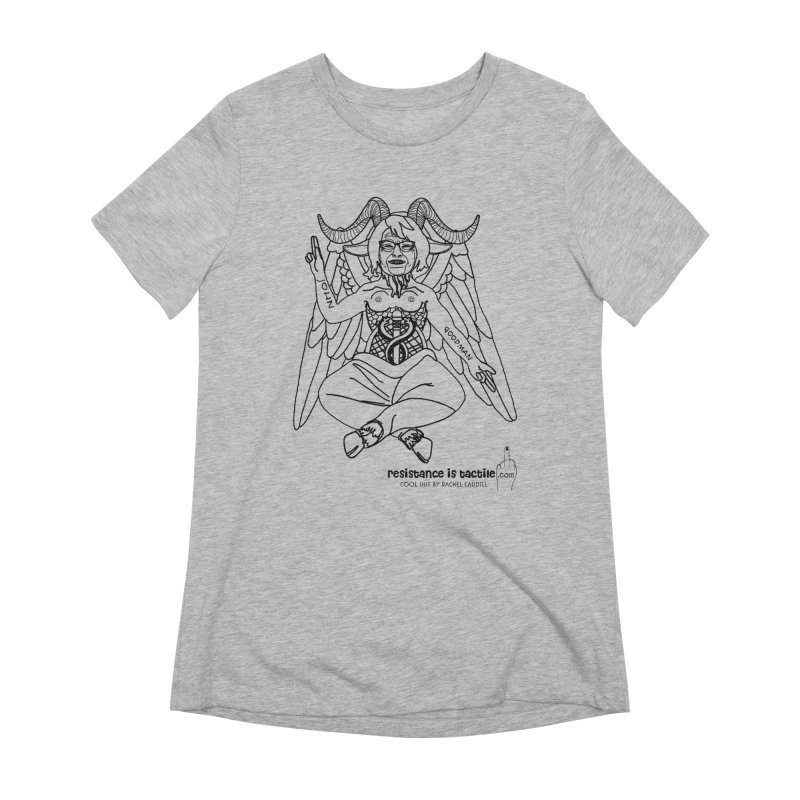 Roseannomet - Light Side Women's Extra Soft T-Shirt by Resistance is Tactile