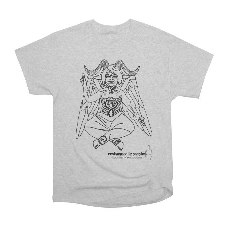 Roseannomet - Light Side Men's T-Shirt by Resistance is Tactile