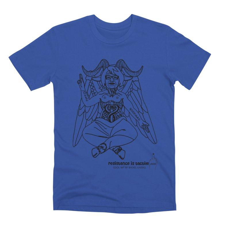 Roseannomet - Light Side Men's Premium T-Shirt by Resistance is Tactile