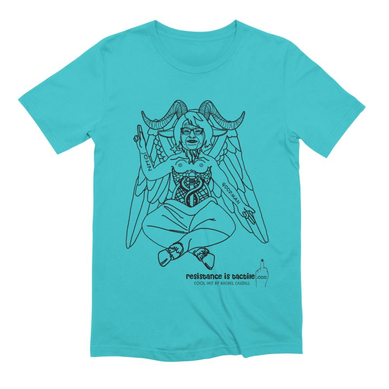 Roseannomet - Light Side Men's Extra Soft T-Shirt by Resistance is Tactile