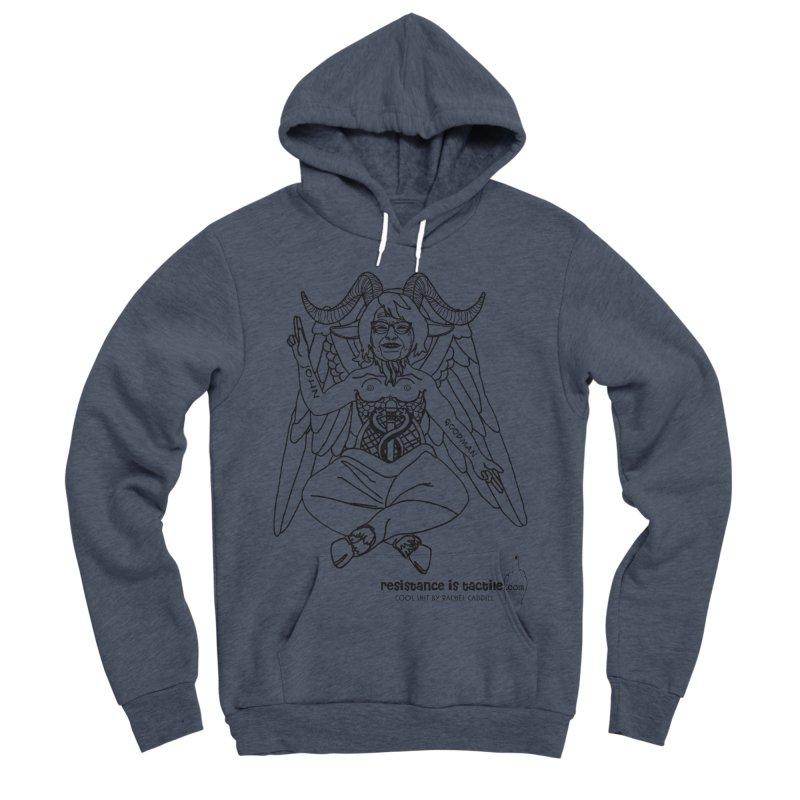 Roseannomet - Light Side Men's Sponge Fleece Pullover Hoody by Resistance is Tactile