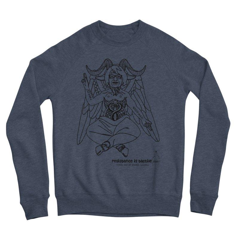 Roseannomet - Light Side Men's Sponge Fleece Sweatshirt by Resistance is Tactile