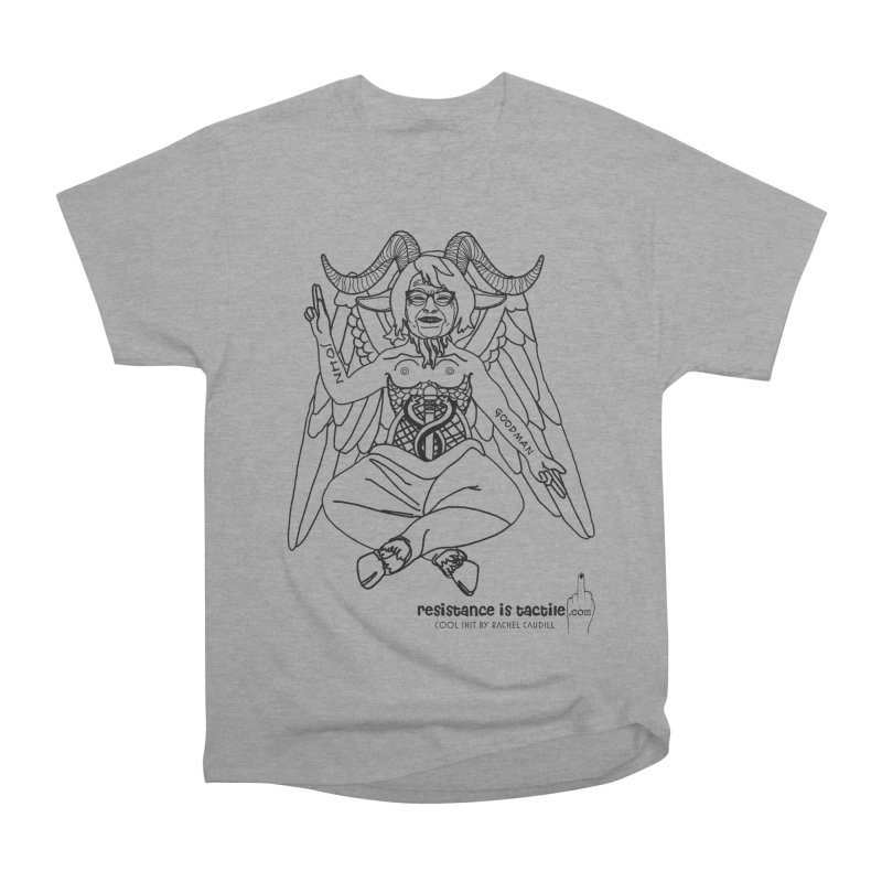 Roseannomet - Light Side Men's Heavyweight T-Shirt by Resistance is Tactile