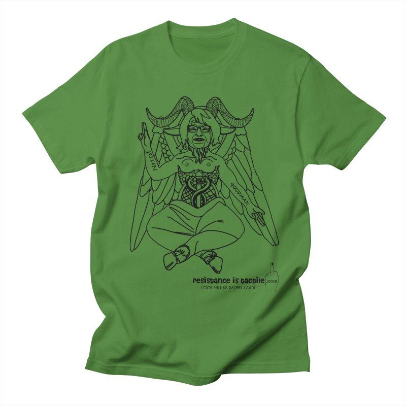 Roseannomet - Light Side Men's Regular T-Shirt by Resistance is Tactile