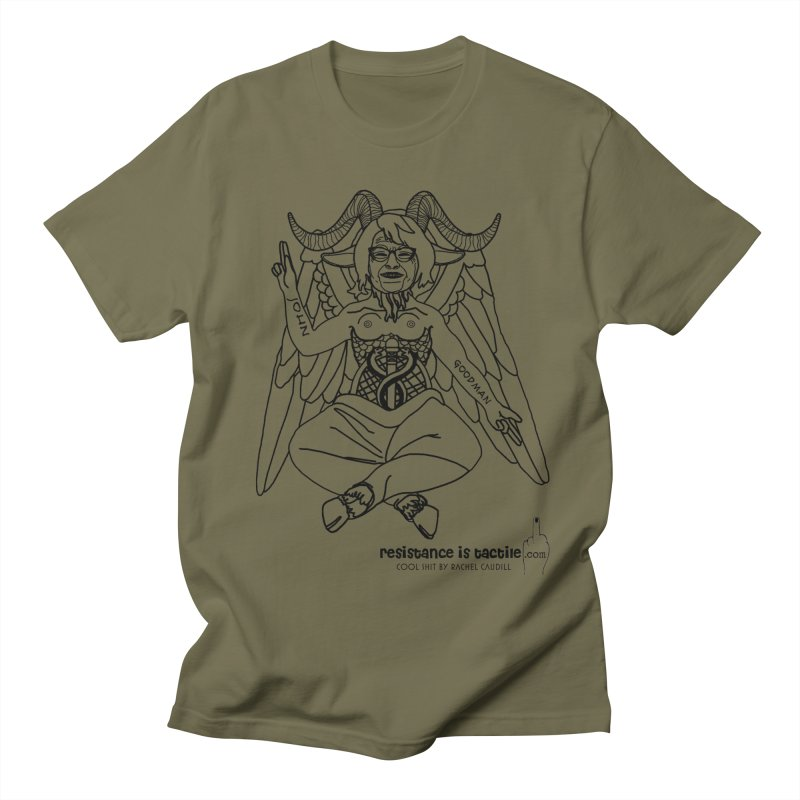 Roseannomet - Light Side Men's Regular T-Shirt by Resistance is Tactile