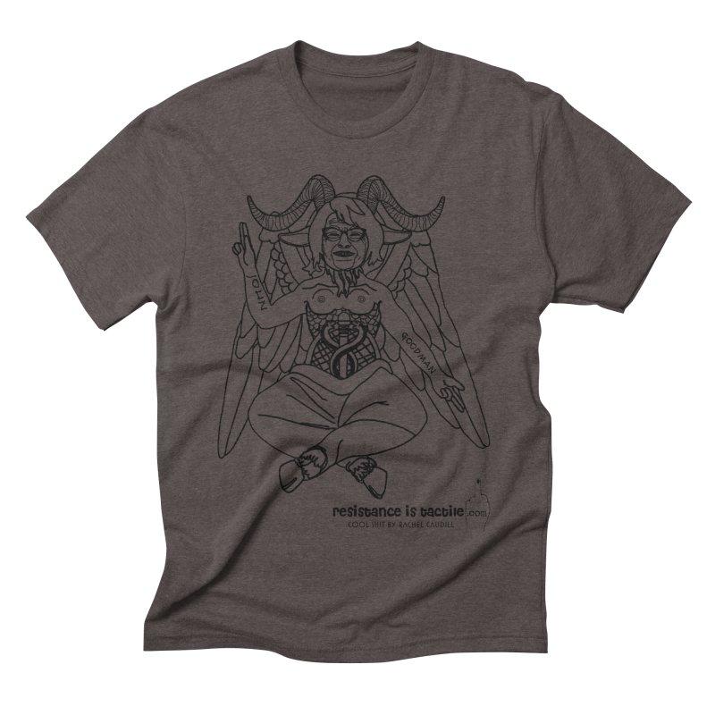 Roseannomet - Light Side Men's Triblend T-Shirt by Resistance is Tactile