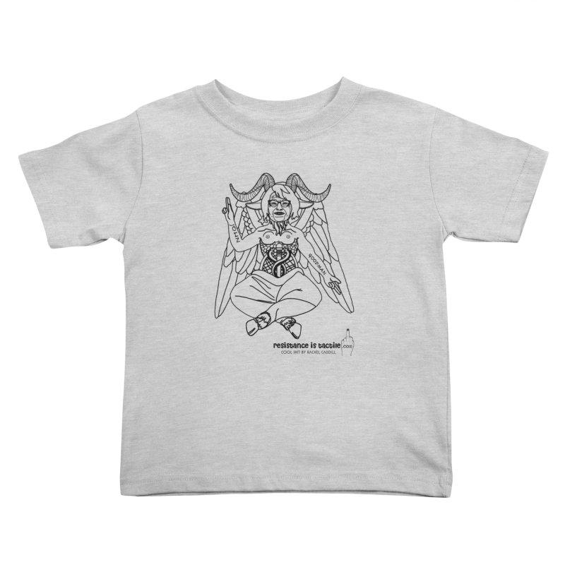 Roseannomet - Light Side Kids Toddler T-Shirt by Resistance is Tactile