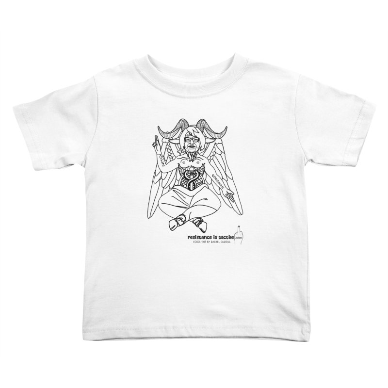 Roseannomet - Light Side Kids Toddler T-Shirt by Resistance is Tactile