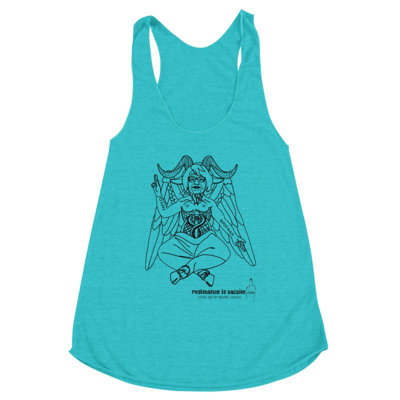 Roseannomet - Light Side Women's Tank by Resistance is Tactile