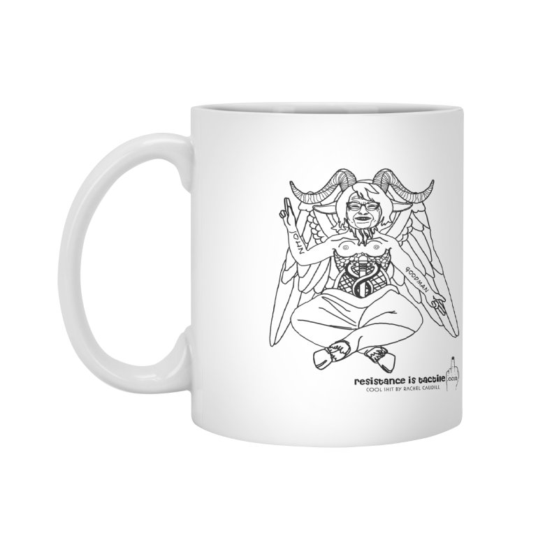 Roseannomet - Light Side Accessories Mug by Resistance is Tactile