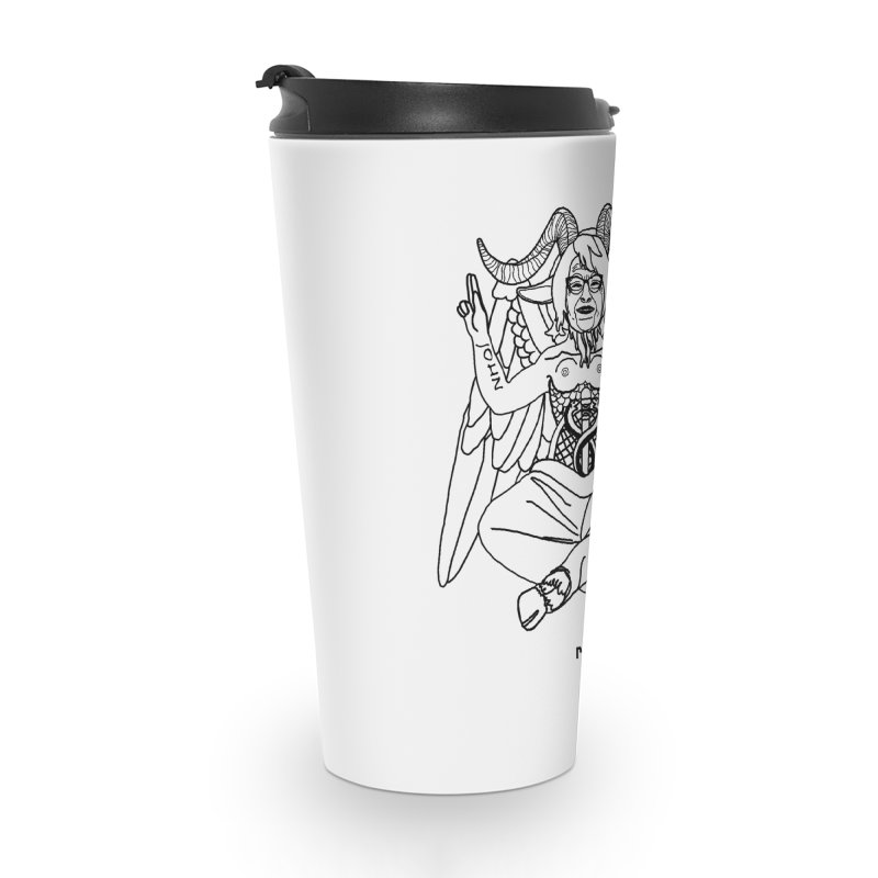 Roseannomet - Light Side Accessories Travel Mug by Resistance is Tactile