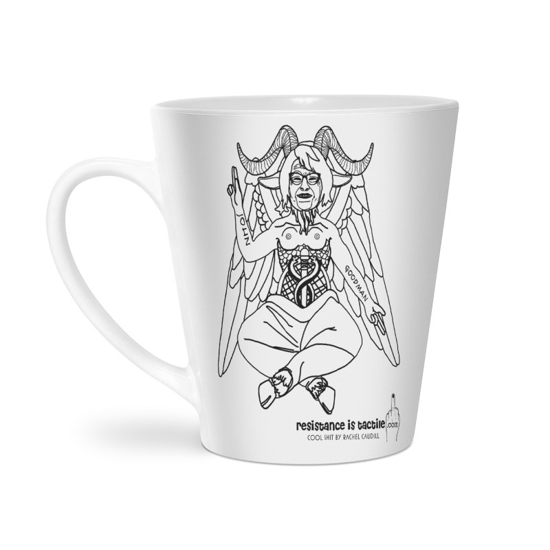 Roseannomet - Light Side Accessories Latte Mug by Resistance is Tactile