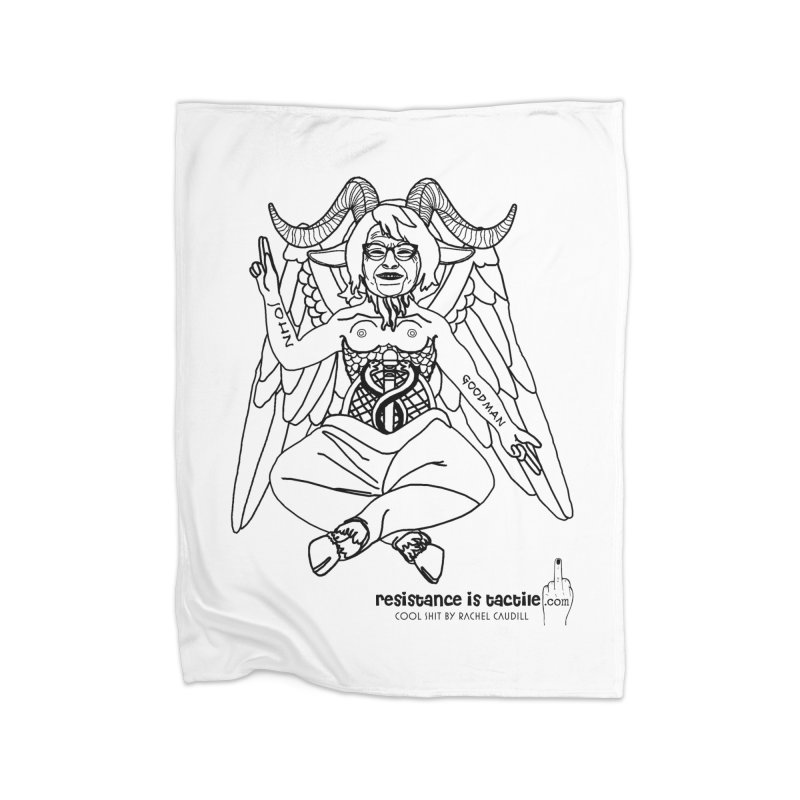 Roseannomet - Light Side Home Fleece Blanket Blanket by Resistance is Tactile