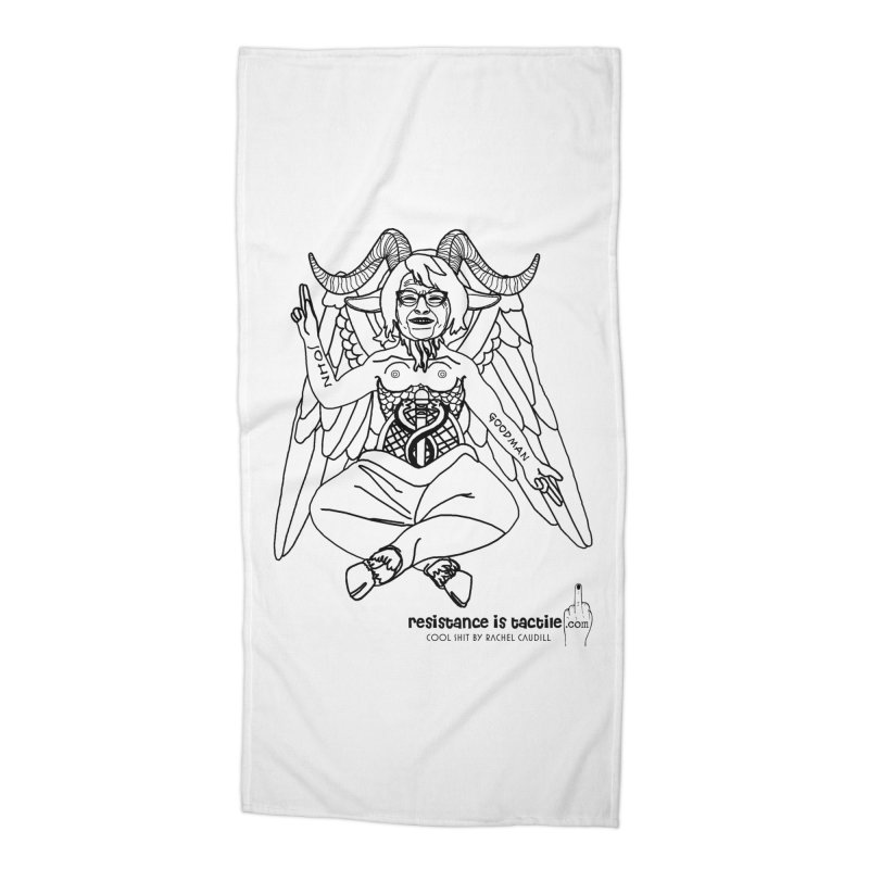 Roseannomet - Light Side Accessories Beach Towel by Resistance is Tactile
