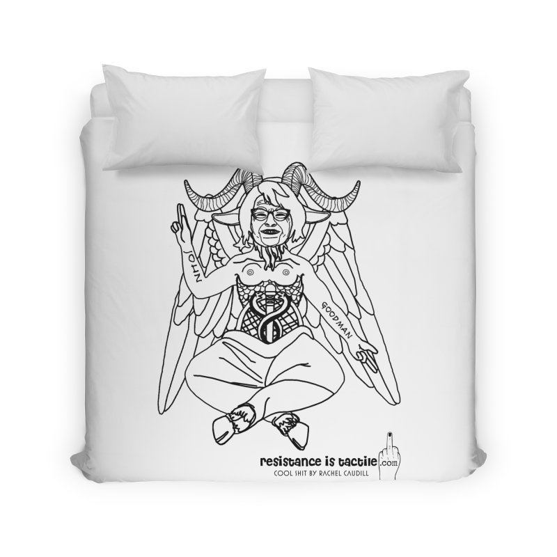Roseannomet - Light Side Home Duvet by Resistance is Tactile