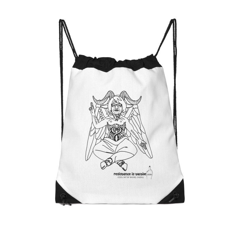 Roseannomet - Light Side Accessories Drawstring Bag Bag by Resistance is Tactile