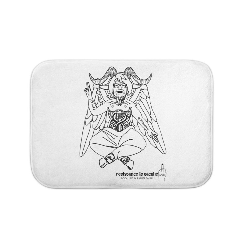 Roseannomet - Light Side Home Bath Mat by Resistance is Tactile