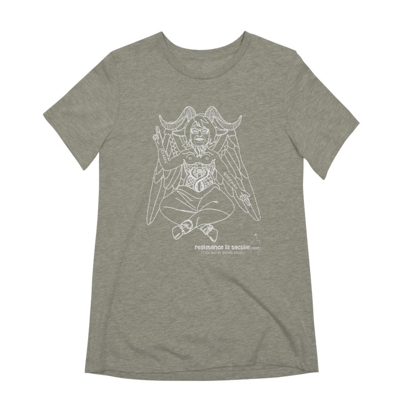 Roseannomet - Dark Side Women's Extra Soft T-Shirt by Resistance is Tactile