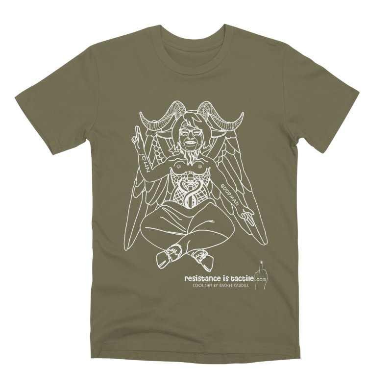 Roseannomet - Dark Side Men's Premium T-Shirt by Resistance is Tactile