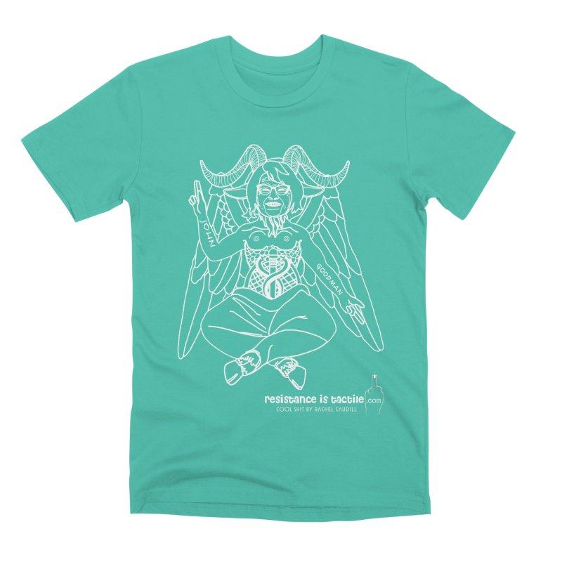 Roseannomet - Dark Side Men's Premium T-Shirt by Resistance is Tactile