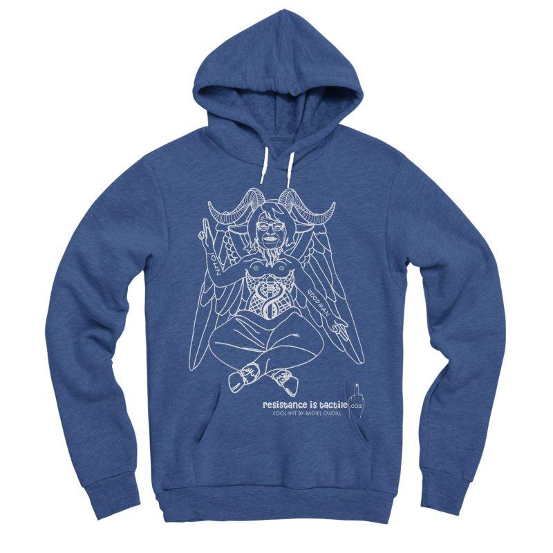 Roseannomet - Dark Side Men's Sponge Fleece Pullover Hoody by Resistance is Tactile