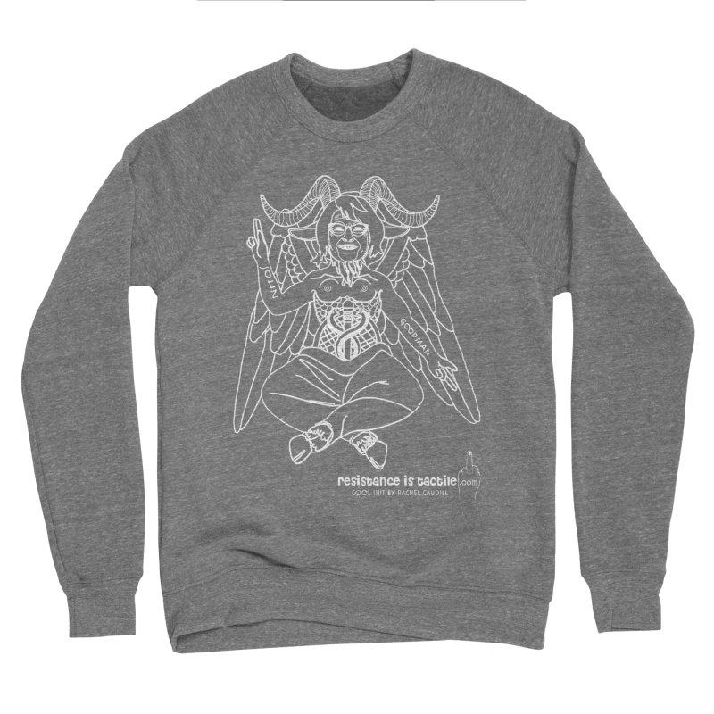 Roseannomet - Dark Side Men's Sponge Fleece Sweatshirt by Resistance is Tactile