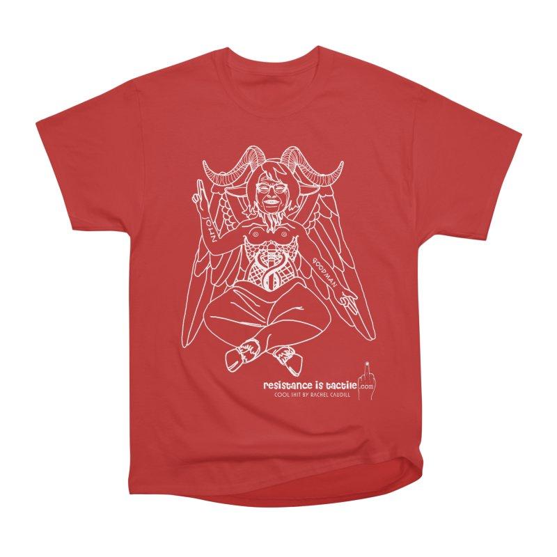 Roseannomet - Dark Side Men's Heavyweight T-Shirt by Resistance is Tactile