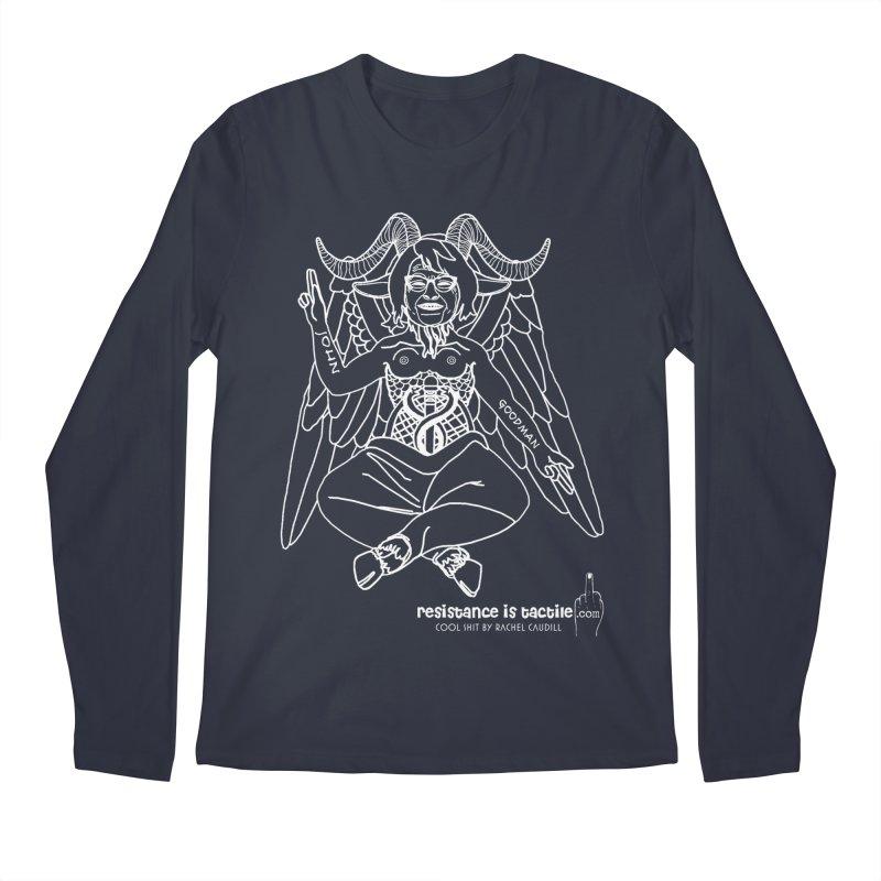 Roseannomet - Dark Side Men's Regular Longsleeve T-Shirt by Resistance is Tactile