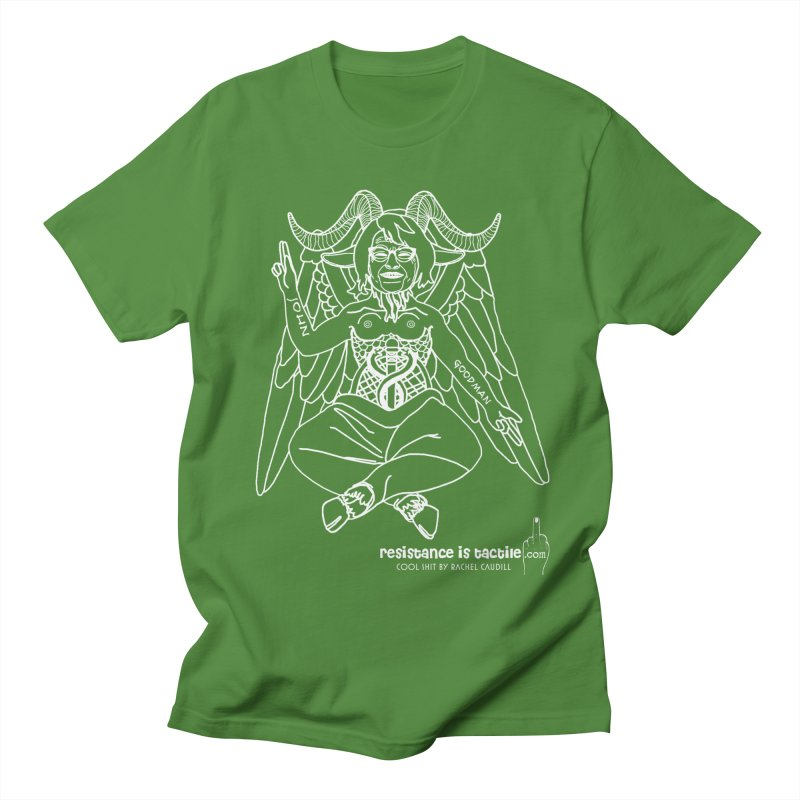 Roseannomet - Dark Side Men's Regular T-Shirt by Resistance is Tactile