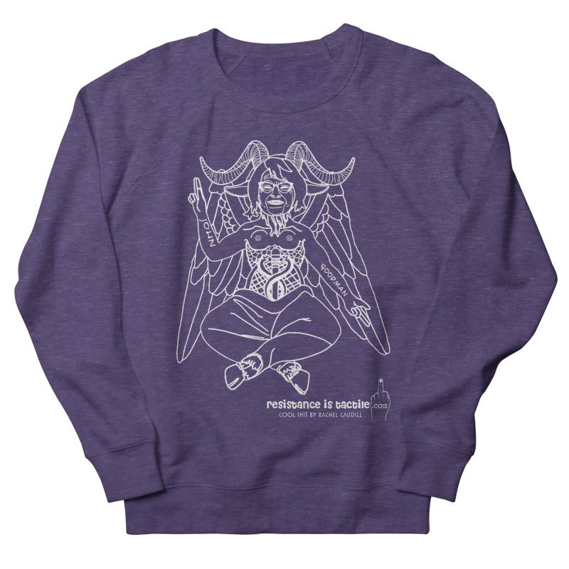 Roseannomet - Dark Side Women's French Terry Sweatshirt by Resistance is Tactile