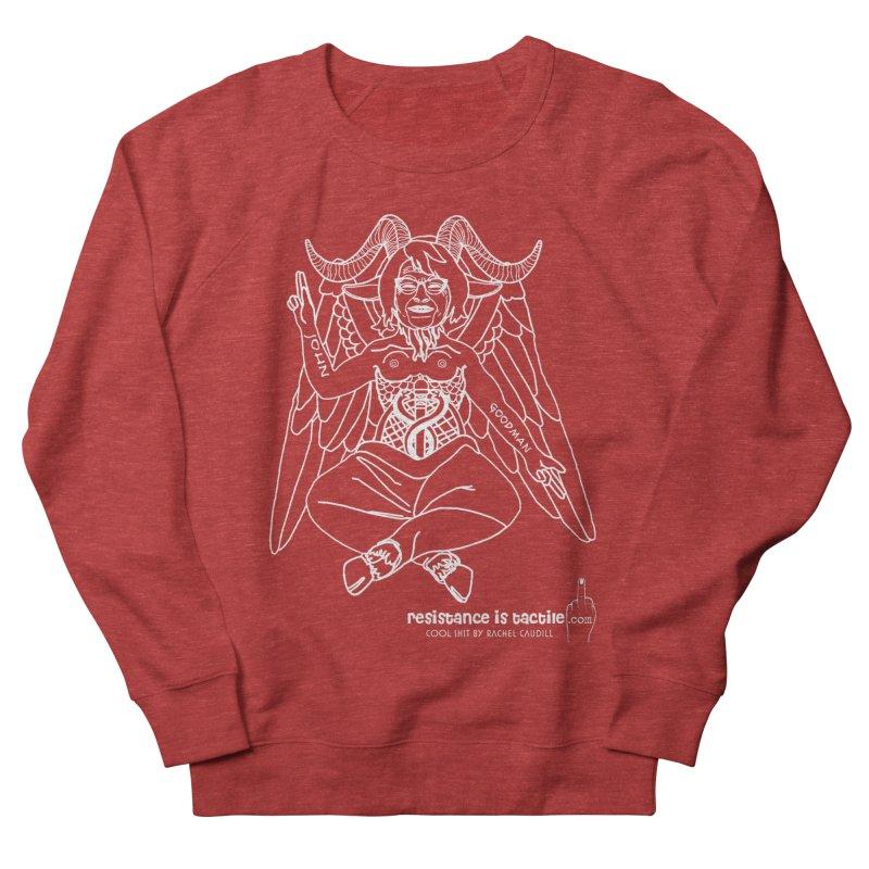 Roseannomet - Dark Side Women's French Terry Sweatshirt by Resistance is Tactile