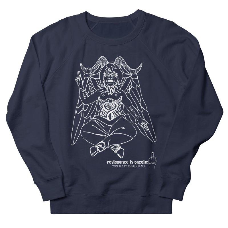 Roseannomet - Dark Side Men's French Terry Sweatshirt by Resistance is Tactile