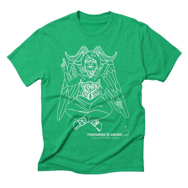 Roseannomet - Dark Side Men's Triblend T-Shirt by Resistance is Tactile