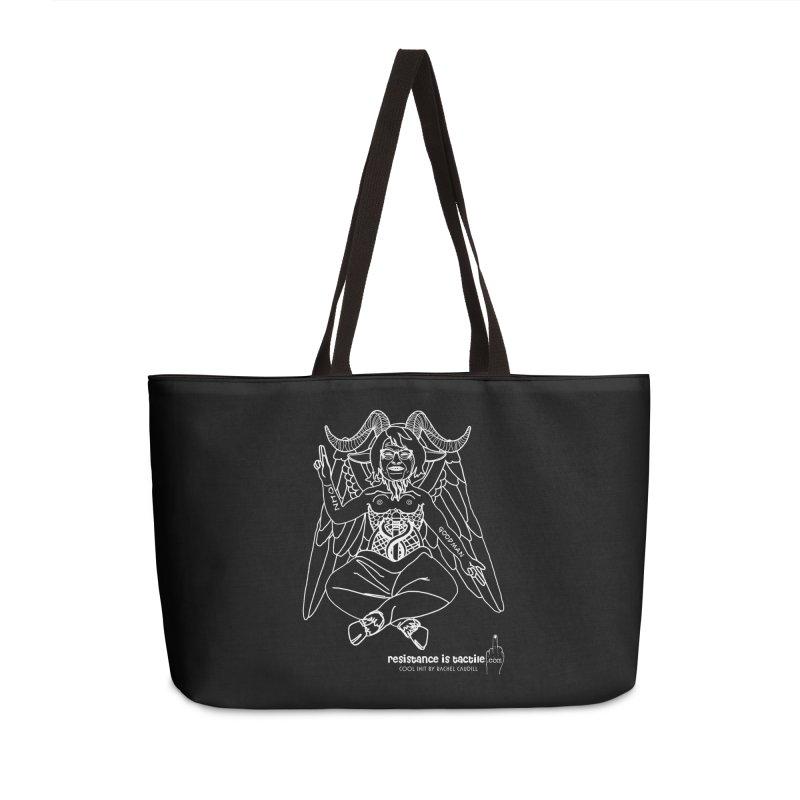 Roseannomet - Dark Side Accessories Bag by Resistance is Tactile