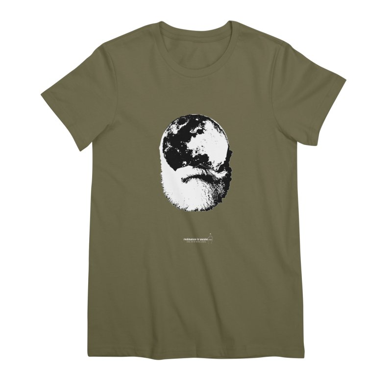 Moon Daddy Women's Premium T-Shirt by Resistance is Tactile