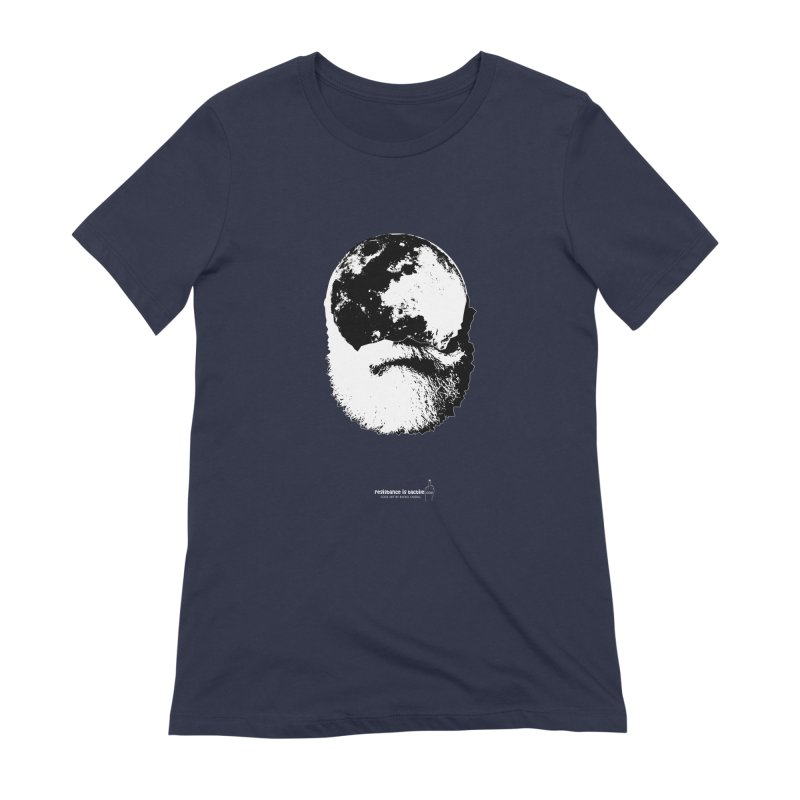 Moon Daddy Women's Extra Soft T-Shirt by Resistance is Tactile