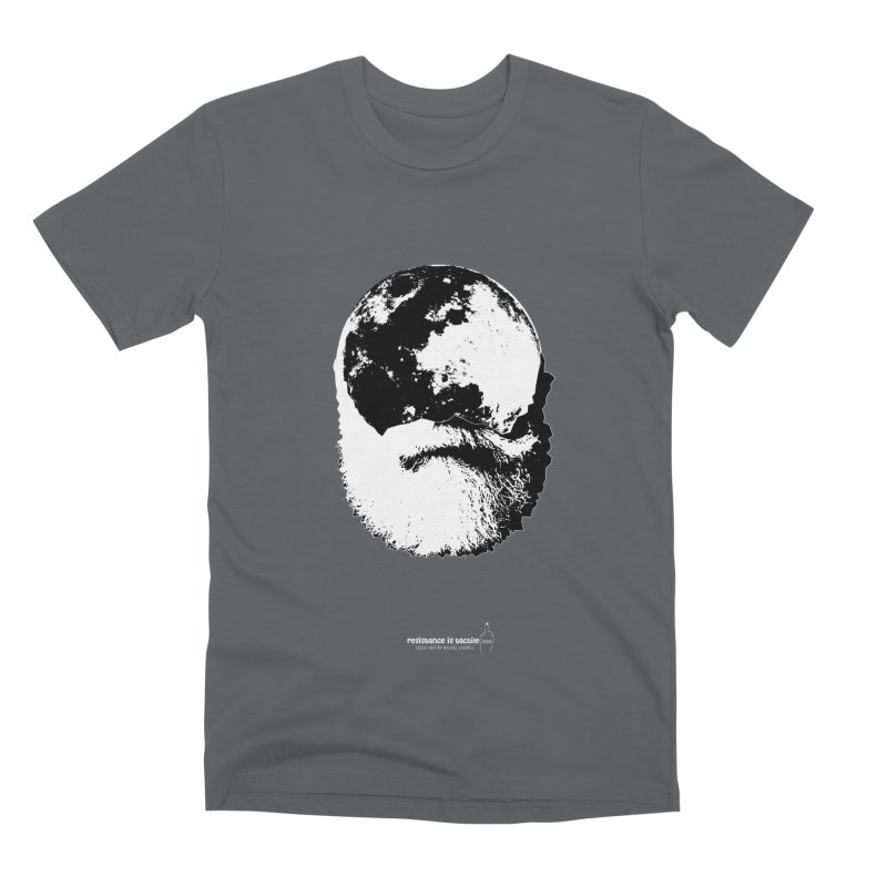 Moon Daddy Men's Premium T-Shirt by Resistance is Tactile