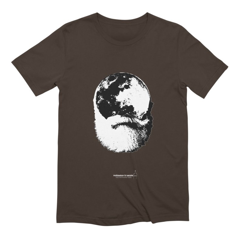 Moon Daddy Men's Extra Soft T-Shirt by Resistance is Tactile
