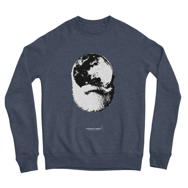 Moon Daddy Men's Sponge Fleece Sweatshirt by Resistance is Tactile