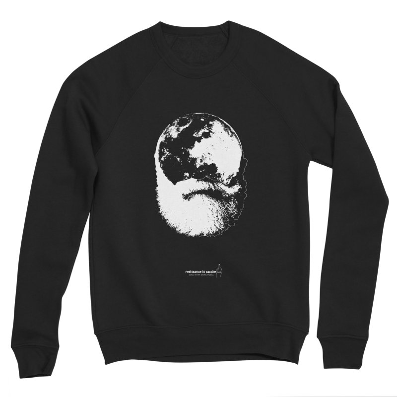 Moon Daddy Men's Sponge Fleece Sweatshirt by Resistance is Tactile
