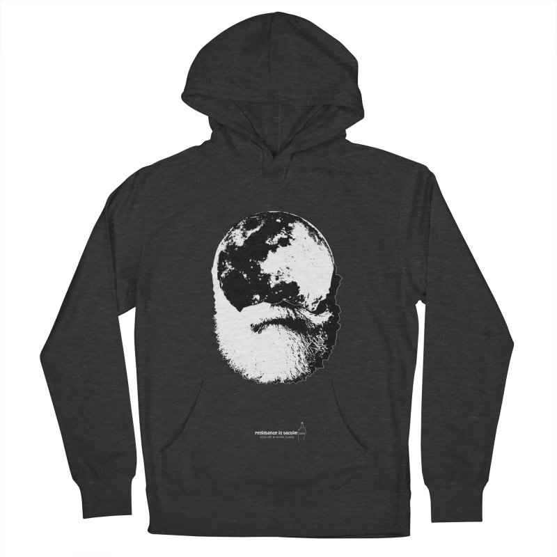 Moon Daddy Women's French Terry Pullover Hoody by Resistance is Tactile