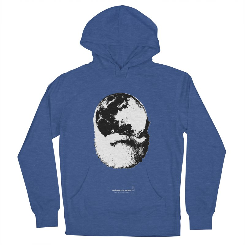 Moon Daddy Men's French Terry Pullover Hoody by Resistance is Tactile