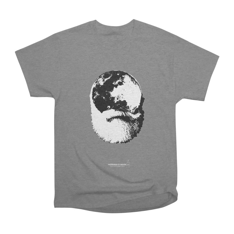 Moon Daddy Men's Heavyweight T-Shirt by Resistance is Tactile
